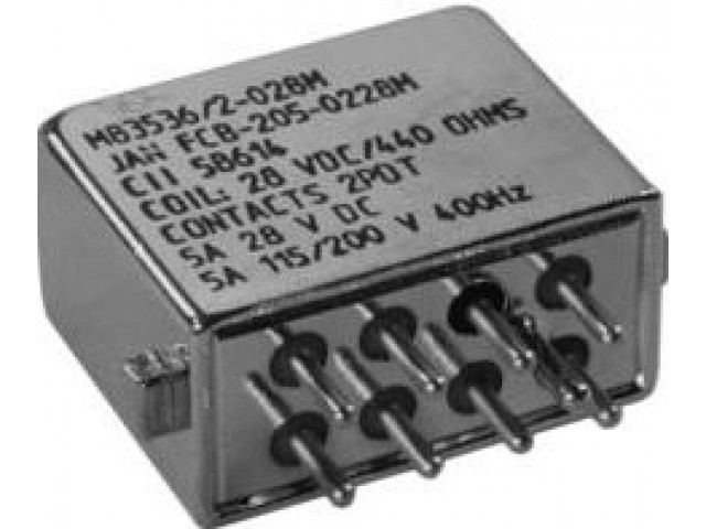 M83536/2-024M, ELECTROMAGNETIC RELAY