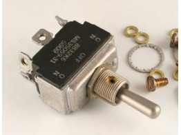 MS35059-23, TWO POLE TOGGLE SWITCH