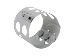 123-1500-D, CLAMP/Round, size: 1.5 depth: .2, aluminum, chromic-anodized finish.