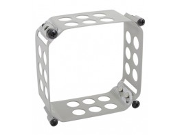 123-3232-F, CLAMP/Square, size: 3.175 x 3.175, depth: 1.5, aluminum, anodized finish, panel mount.