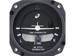 1394T100-7Z, TURN COORDINATOR/12-32V, not lighted.