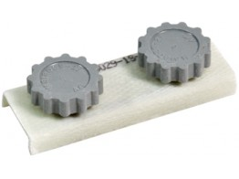 MS18029-1S-3, COVER ASSEMBLY/6-32, 3 stud, for use with Terminal Blocks