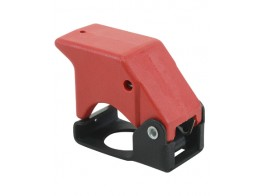 400-121, SWITCH GUARD/2 posiotion, red, keyway locator: 12 o'clock position.