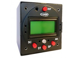 553-101-001, CO DETECTOR WITH CLOCK FEATURES/PANEL MOUNT/RS232 INPUT AND OUTPUT