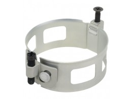 64246, CLAMP/Round, Size: 2.25, depth: 1, aluminum, anodized finish.