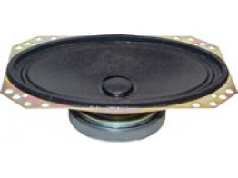 FC46S-4FR, AIRCRAFT SPEAKERS/4 X 6, oval speaker, 4 ohms.