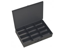 115-95, 12 COMPARTMENT METAL TRAY
