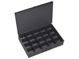 111-95, 20 COMPARTMENT METAL TRAY