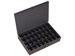 107-95, 32 COMPARTMENT METAL TRAY