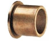 FB-1012-04, Oilite Bronze Flange Bushing.  ID: 5/8 , OD: 3/4 Length: 1/2