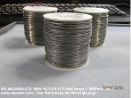 MS20995-C32, SAFETY WIRE